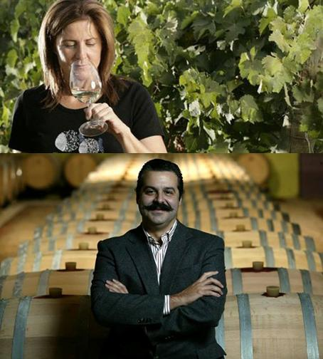Para grandes vinhos, grandes enólogos! A Quinta dos Vales juntou dois emblemas da enologia em Portugal, Dorina Lindemann e o Engº Paulo Laureano. Que dupla! E o resultado está à vista.
