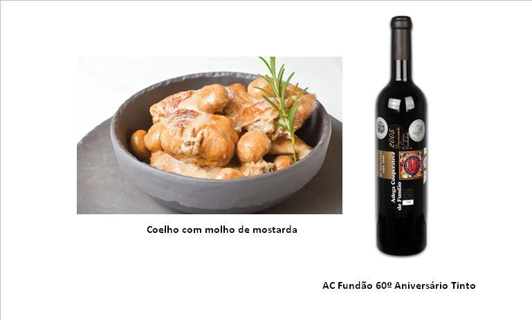 Ingredientes (para 5 pessoas):  1 embalagem de 600 g de pernas de coelho Deluxe Sal Castello q.b. Pimenta Kania q.b. 2 dl de vinho do Porto Armilar 1,5 dl de azeite Chaparro 2 colheres (sopa) de mostarda Duc De Coeur 1 lata de cogumelos Freshona 2 dl de natas Milbona Farinha Castello para polvilhar Preparação:  Aprox. 1 hora + tempo de marinar  Tempere as pernas de coelho com sal, pimenta e o vinho do Porto. Mexa e deixe marinar no frio durante 2 horas.  Depois, escorra a carne e reserve a marinada. Passe as pernas de coelho por farinha e frite-as no azeite até ficarem douradinhas.  Junte a marinada à carne, bem como a mostarda, tape e deixe cozinhar em lume brando durante 40 minutos. Se verificar que tem pouco molho, vá acrescentando água aos poucos.  Ao fim desse tempo, junte os cogumelos previamente escorridos e deixe cozinhar mais 5 minutos.  Por fim, acrescente as natas e deixe ferver até obter um molho cremoso. Retire e sirva quente. Pode acompanhar com massa cozida ou arroz branco.