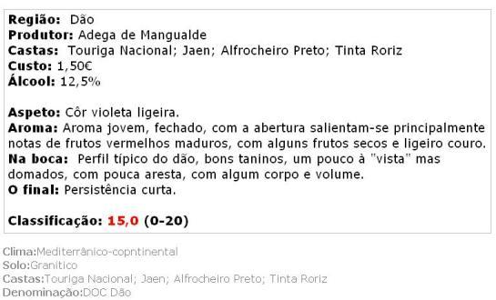 apreciacao Foral D. Henrique Tinto