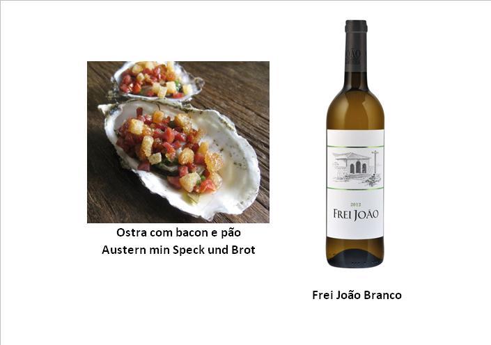 Ostra com bacon e pão  - Austern min Speck und Brot