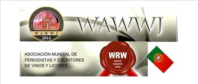 Portugalobteve3023 prémiosem31 concursosque participou durante o ano de 2013, obtendo55155.47 puntos para a Clasificação Mundial de Vinhos do ano 2014. Obteve ainda14 Vinhos do Ano, A melhor empresa de vinhos foi aSogrape Vinhos De Portugal SAcom162 prémiosem9 concursos, alcançando a puntuação de3002.60 pontos. O Melhor Vinho daWRWS 2014de Portugal é oCasa Ermelinda Freitas Moscatel De Setúbal Superior 2003com6 prémiosem6 concursos, alcançando a puntuação de186.25 pontos.