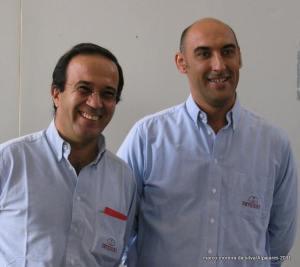 Duarte Leal da Costa (Diretor) e Nélson Rolo (Enólogo e Diretor de Produção)
