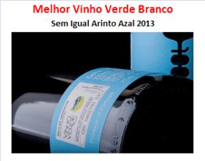 MELHOR VINHO VERDE BRANCO