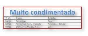 MUITO CONDIMENTADO