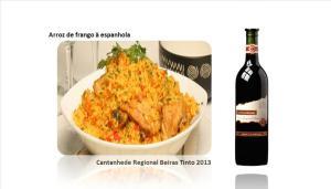 p Arroz de frango à espanhola
