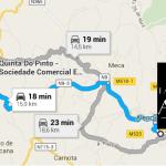 ROTEIRO 4 - Quinta do Pinto a Taberna do Areal