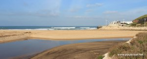 Imagens da Praia da Areia Branca, Lourinhã, Portugal