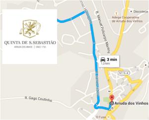 ROTEIRO 2 - Arruda dos Vinhos e Quinta de São Sebastião