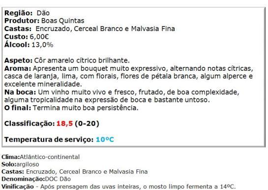 apreciacao Opta Dão Branco 2014