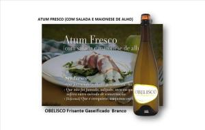 ATUM FRESCO (COM SALADA E MAIONESE DE ALHO)