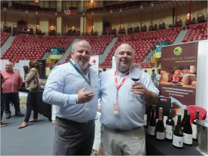 Com o sempre amigo Ricardo Santos da Portvinus - Quinta do Cardo e Farizoa