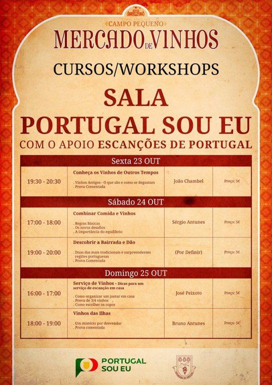 Workshops - Escanções de Portugal