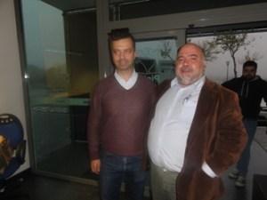 Com o Engº Rodolfo Queirós, da CVR Beira Interior