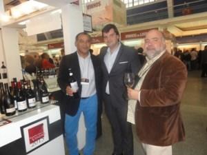 Bom vinho com 2 bons amigos! Estou entre o enólogo Osvaldo e o escanção João Chambel do Estado d'Alma!