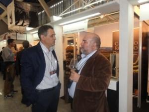 Com o amigo, o Sr. António José Madeira da Adega de Castelo Rodrigo