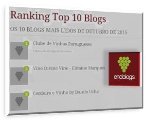 OS 10 BLOGS MAIS LIDOS DE OUTUBRO DE 2015 http://enoblogs.com.br/blogs