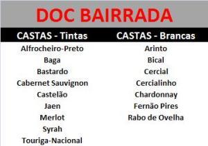 DOC BAIRRADA CASTAS