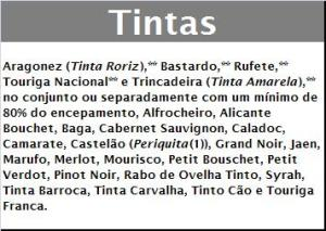 DOC CASTAS TINTAS