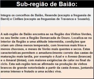 DOP VINHO VERDE BAIAO