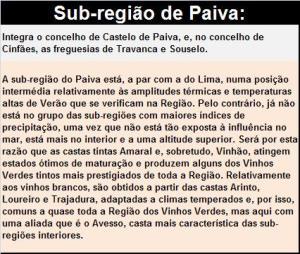 DOP VINHO VERDE PAIVA