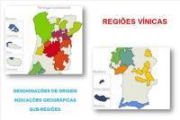 REGIÕES VITIVINÍCOLAS PORTUGUESAS – MAPA GLOBAL