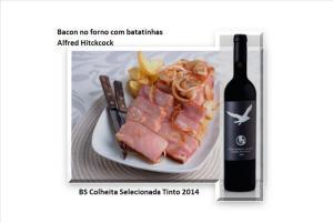 Bacon no forno com batatinhas - Alfred Hitckcock