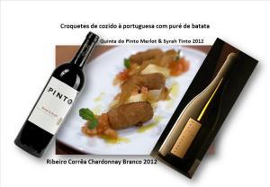 Croquetes de cozido à portuguesa com puré de batata