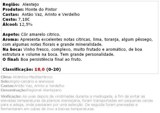 apreciacao Monte do Pintor Branco 2013