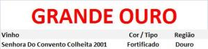 CATA GRANDE OURO