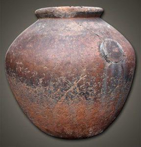 Vaso de argila sumério
