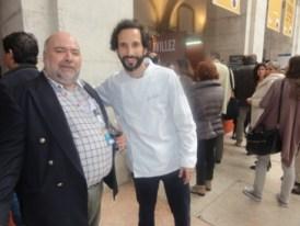 Com o Chef José Avillez, do Restaurante Belcanto com 2 estrelas Michelin!