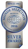 Monde Selection - Silver Quality Award 2016