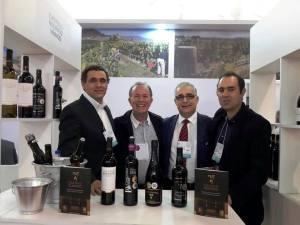 Expovinis Brasil com os parceiros da Ojorim
