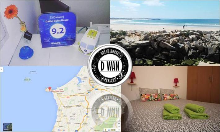 www.dwanguesthouse.com Rua das Amoreiras nº28, 2520-337 Peniche +351 924 284 527