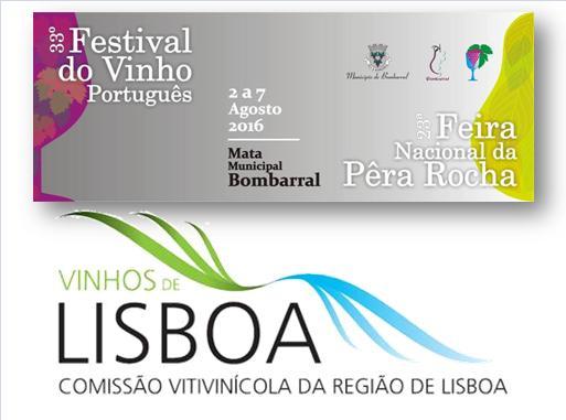 LOGO Festival do Vinho Português - Feira Nacional da Pêra Rocha