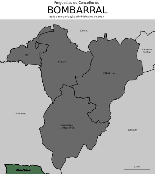 CONCELHO DO BOMBARRAL: Clique para ampliar