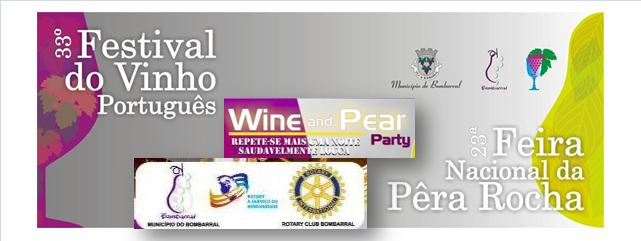 LOGO 80's Wine and Pear Party