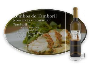LOMBOS DE TAMBORIL (COM ERVAS E MOSTARDA)