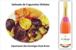 Salteado de Cogumelos Shiitake