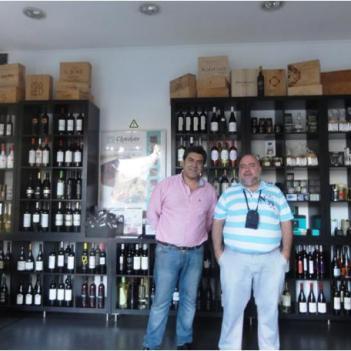 Com o responsável, Jorge Antunes