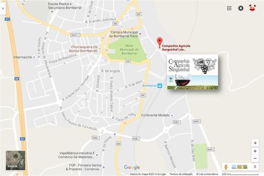 QUINTA DAS CEREJEIRAS (Clique no mapa para ampliar)