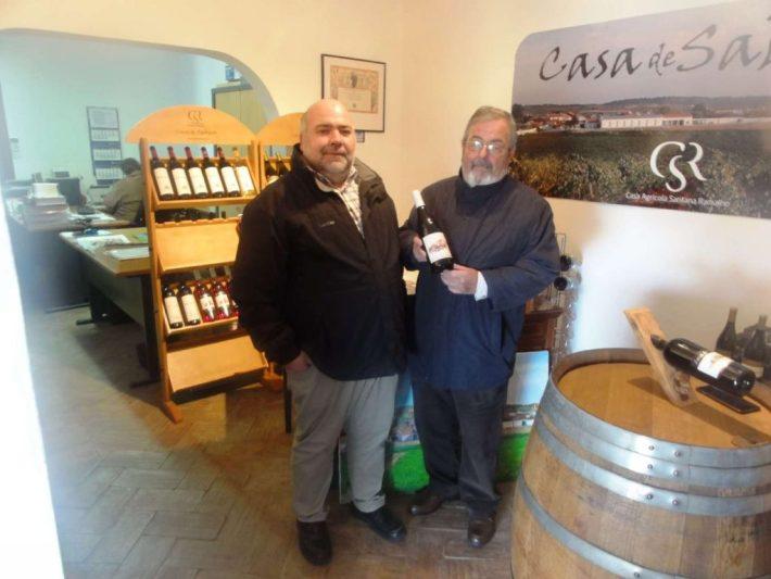 Com o Sr. Eng. Joaquim Madeira