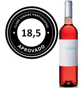 MELHOR VINHO ROSÉ; Malaca Rosé 2015; 18,5 pts.