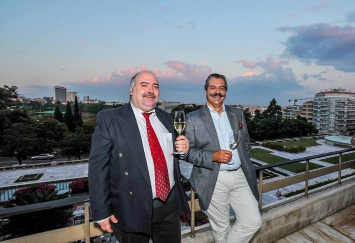 Com Eng Paulo Laureano, no Ritz Four Seasons em Lisboa