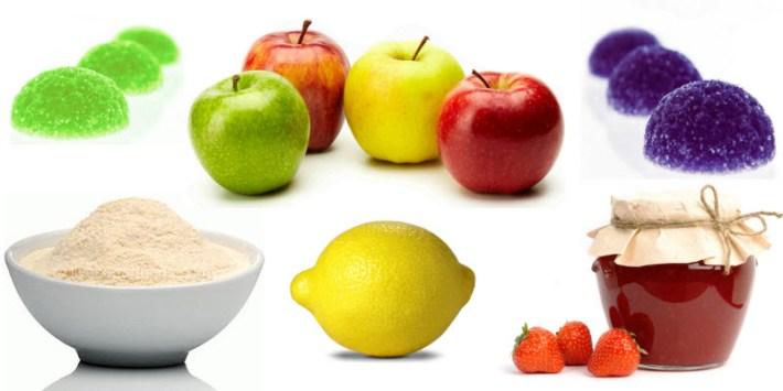 Alimentos e vegetais que contêm pectinas