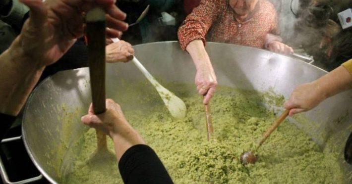 A preparar espargos em Santa Eulália - Elvas