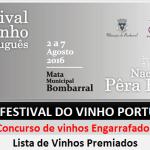 Lista de Vinhos Premiados 2016