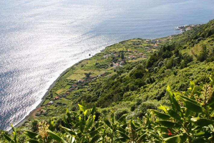 A Fajã de São João na Ilha de São Jorge