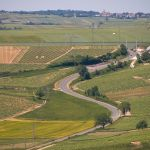 Sancerre tem entre vinhas inclinadas e terrenos mais planos