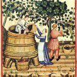 pisa a pes de vinho e saída em bics